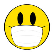 Emoji Face Wearing a Surgical Mask